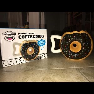 Frosted donut coffee mug